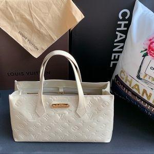 🌸 Louis Vuitton Wilshire PM Vernis Leather
